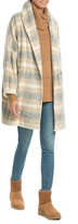 IRO Printed Virgin Wool Coat