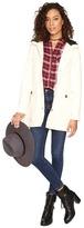 BB Dakota Gregor Microfiber Coat W/ Fur Lined Hood Women's Coat