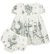 Dolce & Gabbana Baby's Two-Piece Short Sleeve Dress & Bloomers Set