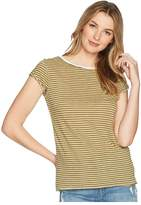 Free People Stripe Clare Tee Women's T Shirt