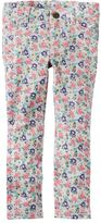 Carter's Baby Girl Floral French Terry Jeggings