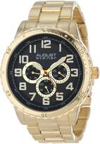August Steiner Men's AS8060YG Quartz Multi-Function Bracelet Watch