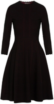 Alexander McQueen Stretch Knit Lace Dress