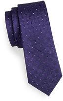 Strellson Tiled Dot-Neat Slim Silk Tie