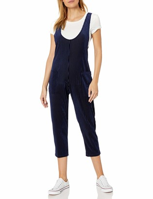 Only Hearts Women's Velvet Rib Overall Jumpsuit