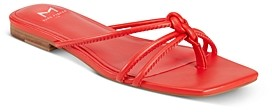 Marc Fisher Women's Monty Square-Toe Thong Sandals