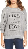 Wildfox Couture Women's Like Is The New Love Sweatshirt