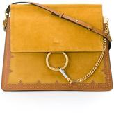 Chloé studded 'Faye' shoulder bag - women - Calf Leather/Calf Suede - One Size