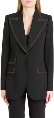 Dolce & Gabbana Satin Piping Blazer