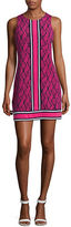 Michael Kors Petite Snakeskin Print Shift Dress