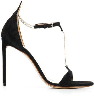 Francesco Russo chain stiletto sandals