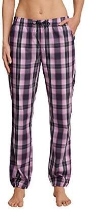 Schiesser Women's Mix & Relax Webhose Lang Pyjama Bottoms,UK