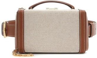 Mark Cross Grace Box Small canvas belt bag