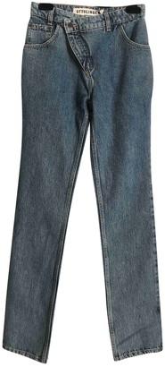 Ottolinger Blue Cotton Jeans for Women
