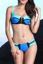 Adore Clothes & More Blue Turquoise Bikini