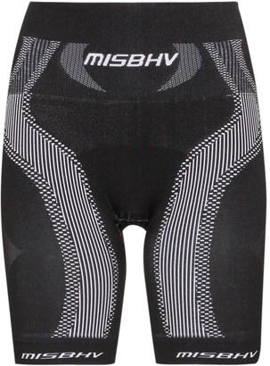 Misbhv High-Waisted Sport Knit Shorts