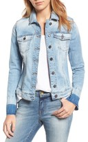 KUT from the Kloth Women's Release Cuff Denim Jacket