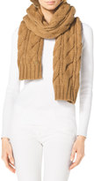 MICHAEL Michael Kors Chunky Cable-Knit Scarf