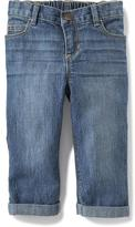 Old Navy Boyfriend Cropped Jeans for Toddler Girls