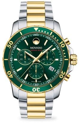 Movado Series 800 Chonograph Watch