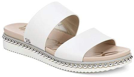 Leather Slide Women's Studded Asha Sandals QdtshrCx