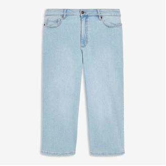 Joe Fresh Women+ Wide Leg Jeans, Light Blue (Size 16)
