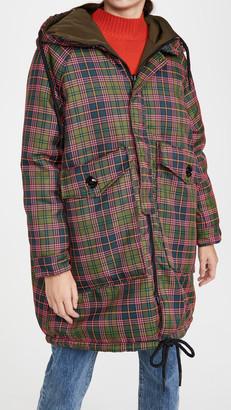 OOF Reversible Zip Up Coat