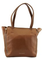 Vince Camuto Jasna Tote Women Leather Brown Tote.