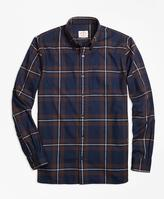Brooks Brothers Plaid Flannel Sport Shirt