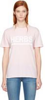6397 Pink herbs T-shirt