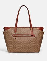 Coach Baby Bag In Signature Canvas