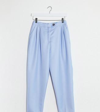 ASOS DESIGN Petite extreme dad suit trousers