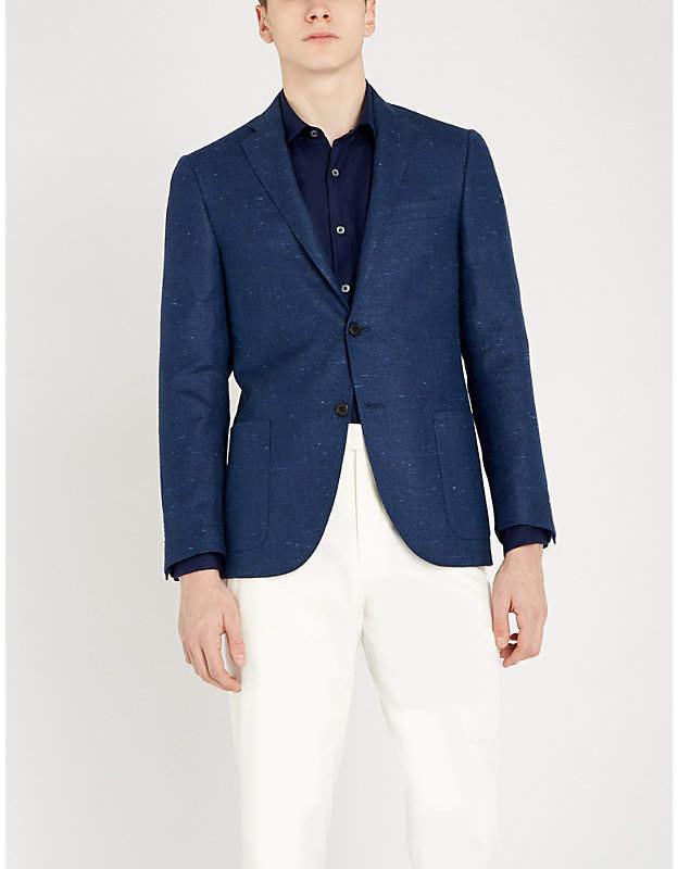 Canali Regular-fit linen shirt