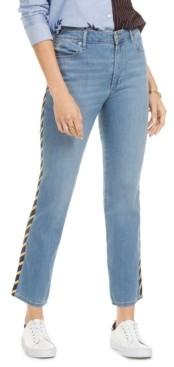 Tommy Hilfiger Side-Stripe Slim-Fit Jeans