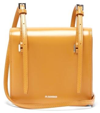Jil Sander Mini Leather Cross-body Bag - Womens - Yellow