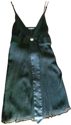 Mangano Black Silk Dress for Women