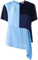 Diane von Furstenberg asymmetric T-shirt - women - Silk - S