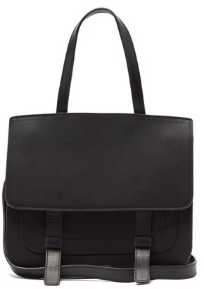 Mansur Gavriel Leather Satchel Shoulder Bag - Black