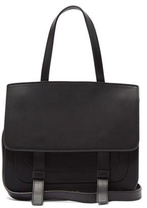 Mansur Gavriel Leather Satchel Shoulder Bag - Womens - Black