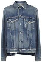 Citizens of Humanity Crista Distressed Oversized Denim Jacket