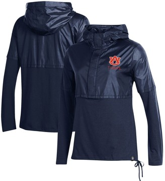 Under Armour Women's Navy Auburn Tigers Sportstyle Hybrid Jacket