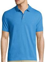 Claiborne Short-Sleeve Stretch Polo