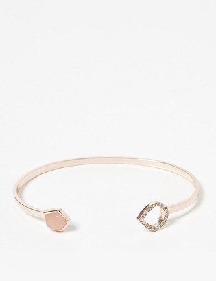 Marks and Spencer Open Rose Pave Bracelet