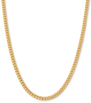 "Giani Bernini Curb Link 22"" Chain Necklace in 18k Gold-Plated Sterling Silver"