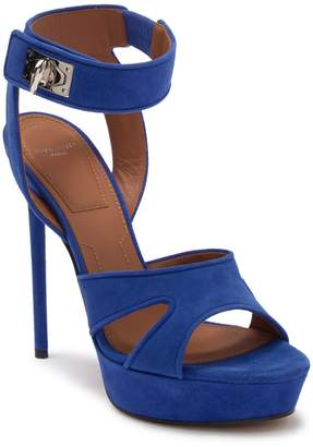 Givenchy Suede Stiletto Heel Sandal