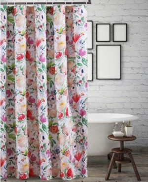 Greenland Home Fashions Blossom Bath Shower Curtain Bedding