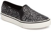 Keds Double Decker Glitter Slip-On Sneaker (Women)