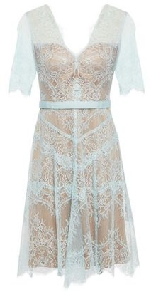 Catherine Deane Neroli Grosgrain-trimmed Chantilly Lace Dress