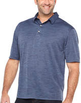 Van Heusen Air Spacedye Polo Short Sleeve Melange Polo Shirt Big and Tall