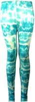 Aelstores. GIRLS STRETCHY LEGGINGS TIE DYE KIDS AGE SIZE 7 8 9 10 11 12 13 YEARS
